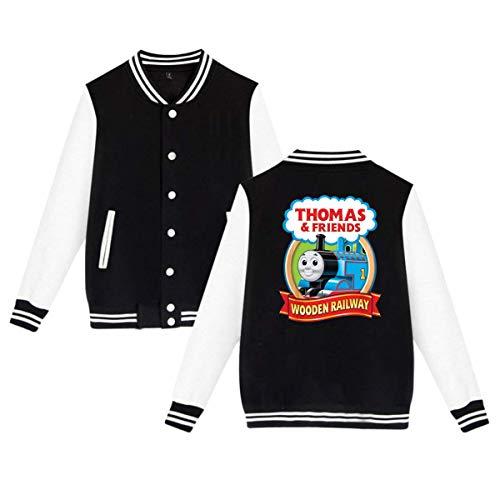 KissKid Thomas The Tank Engine & Friends Adults Baseball Uniform Jacket Sport Coat L