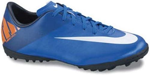 códigos de cupón extremadamente único diseño elegante Nike Junior Mercurial Victory II TF (azul/plati/naranja), Azul ...