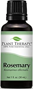 Plant Therapy Rosemary Essential Oil. 100% Pure, Undiluted, Therapeutic Grade. 30 ml (1 oz).