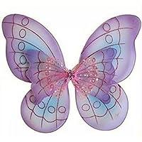 Alas de disfraz de mariposa púrpura de Cutie Collections, un tamaño