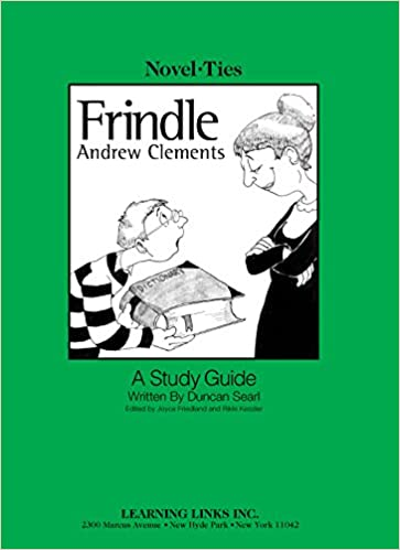 Frindle novel ties study guide andrew clements 9780767506014 frindle novel ties study guide andrew clements 9780767506014 amazon books publicscrutiny Gallery