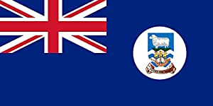 magFlags Large Flag Falkland Islands 1948-1999 | Falkland Islands | landscape flag | 1.35m² | 14.5sqft | 80x160cm | 30x60inch - 100% Made in Germany - long lasting outdoor flag