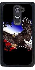 Funda para LG G2 - águila Calva - Rojo, Blanco Y Azul by Adamzworld