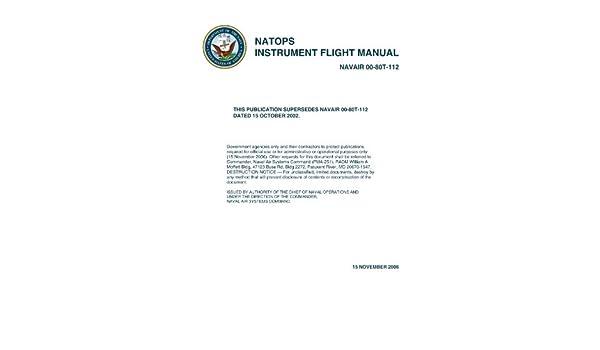 Natops Instrument Flight Manual Navair 00 80t 112 Nifm 2006