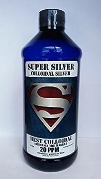 Super Silver Colloidal Silver 20 PPM - 32 Oz