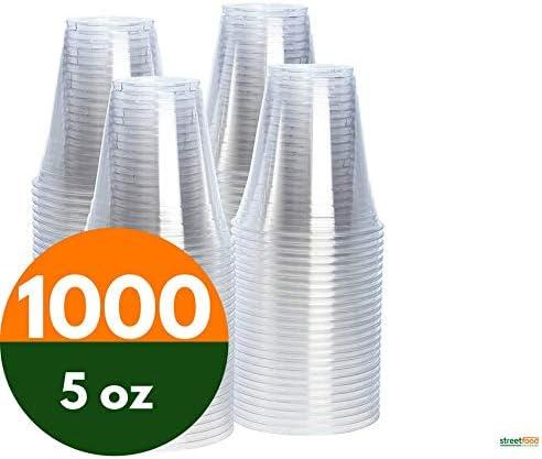 Vasos desechables orgánicos de plástico biodegradable con forma de ...