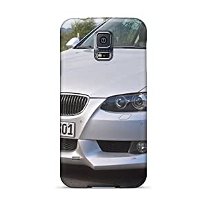 Durable Protector Cases Covers With White Ac Schnitzer Bmw E92 3 Series Coupe Front Section Hot Design For Galaxy S5