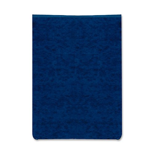 ACCO PRESSTEX Report Covers, Top Bound, 8.5 x 11 Inches, 2 Inch Capacity, Dark Blue (A7017023) 20 Point Presstex Covers