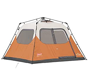 NEW COLEMAN Outdoor C&ing Waterproof 6 Person Instant Tent - 10u0027x9u0027 Foootprint  sc 1 st  Amazon.com & Amazon.com : NEW COLEMAN Outdoor Camping Waterproof 6 Person ...