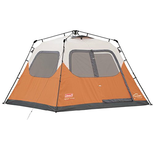 NEW COLEMAN Outdoor Camping Waterproof 6 Person Instant Tent - 10'x9' Foootprint