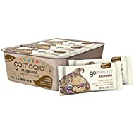 GoMacro MacroBar Organic Vegan Protein Bars - Peanut Butter and Chocolate Chip (2.4 Ounce Bars, 12 Count)
