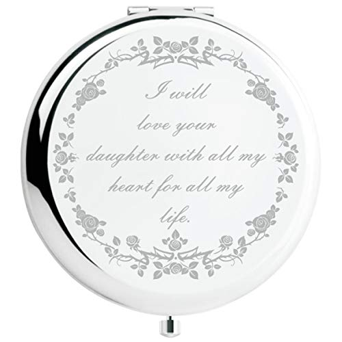 Mother of The Bride Gifts from Groom, Wedding Keepsake Gift,Great Gifts Presentfor Mom Mommy Mother(Silver, Mother of The Bride)