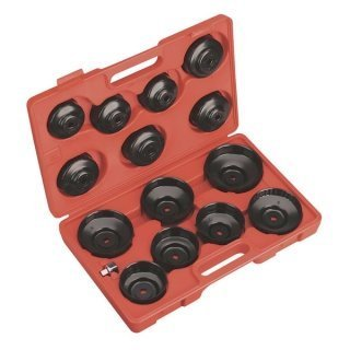 14 opinioni per Chiavi per filtro olio a tazza/bussola set 15 pz in valigetta