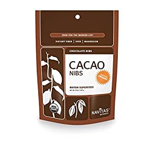 Navitas Naturals Organic Raw Cacao Nibs, 8-Ounce Pouches