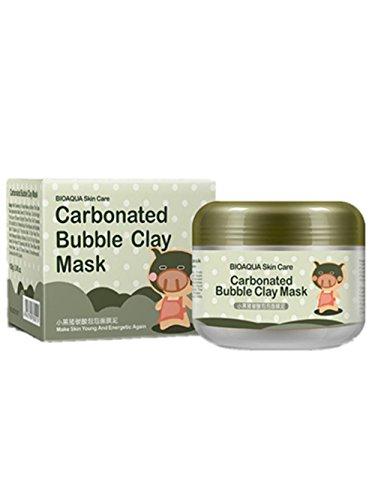 Oxygen Moisturizing (SunwardBIOAQUA Brand Skin Care Oxygen Bubbles Carbonate Moisturizing Facial Masks)