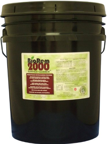 Clift Industries 8008-005 BioRem-2000 Surface Cleaner, 5-Gallon Bucket by Clift Industries, Inc.
