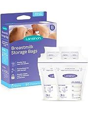 Lansinoh Breastmilk Storage Bags, 50Count, 4 Oz