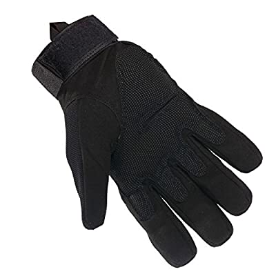 Tactical Gloves - Men's Wear-resistant Military Airsoft Gloves for Sporting Shooting Paintball Hunting Riding Motorcycle - Bundled With Skull Face Tube Mask