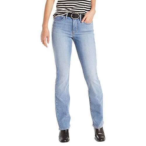 953977277 Calça Jeans Levis Feminina 315 Shaping Bootcut Azul Claro