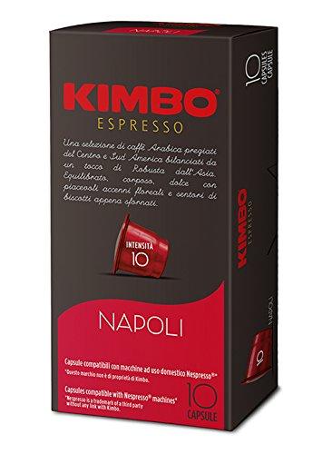 Cápsulas compatibles con cafeteras Nespresso®* (Napoli)