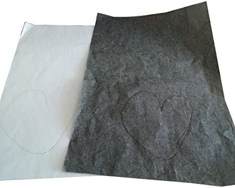 22,9/x 33/cm toile et autres surfaces artistiques - Pour la reproduction d/œuvres sur du bois papier calque Winmany 25/feuilles de papier calque carbone