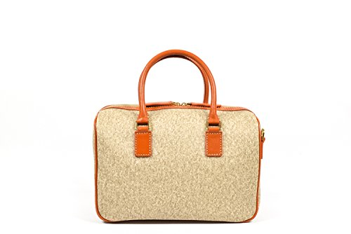 The Bridge Handbag Top Handle Beige