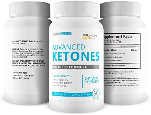 Advanced Ketones - Advanced Formula - Keto Diet Pills - Boost Ketosis with These Magnesium Bhb Exogenous Ketones - Burn More Fat - Burn Fat Faster - Stay in Ketosis Longer - Feel Mentally Focused 5