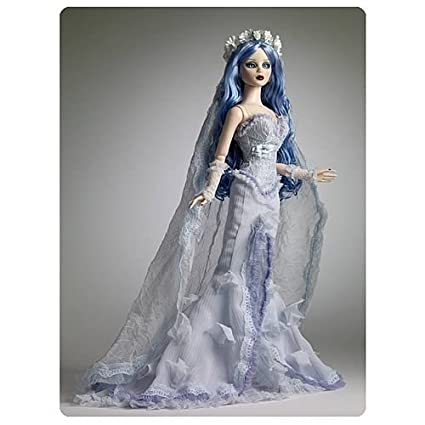 Amazon.com: Corpse Bride Emily Tonner Doll: Toys & Games