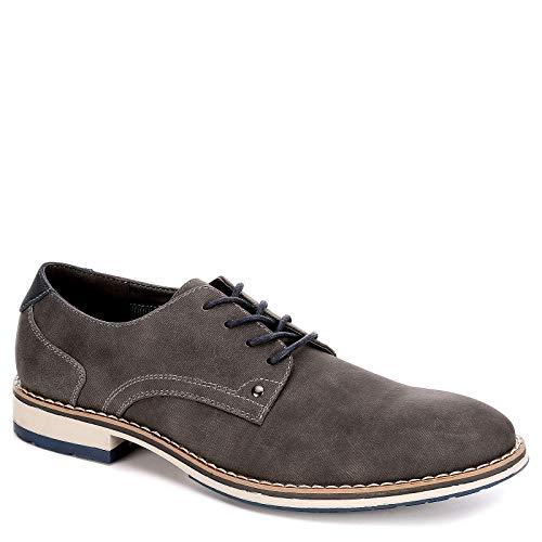 Varese Mens Nick Lace Up Plain Toe Oxford Shoes