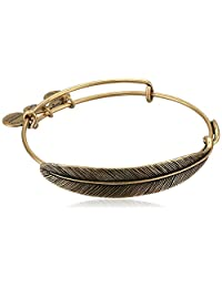 Alex and Ani Womens Quill Feather Bangle