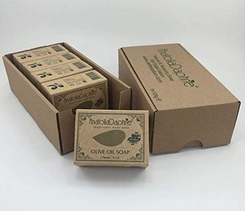 (Olive Oil Soap Bar - Handmade 100% Pure Natural & Vegan (5)