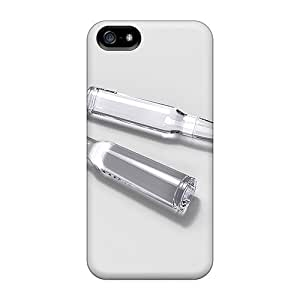 First-class Case Cover For Iphone 5/5s Dual Protection Cover Bullet Glass