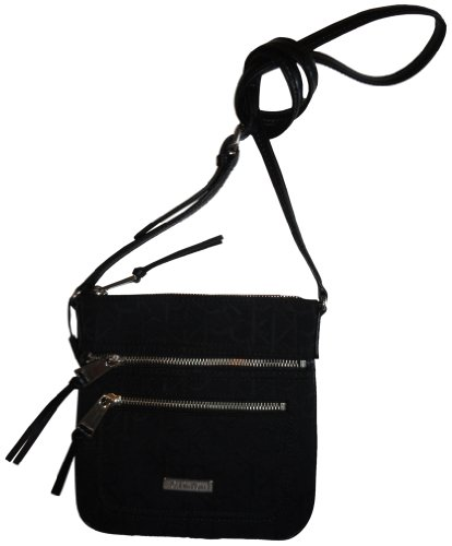 Calvin Klein Women's Purse Handbag Crossbody Black/Black