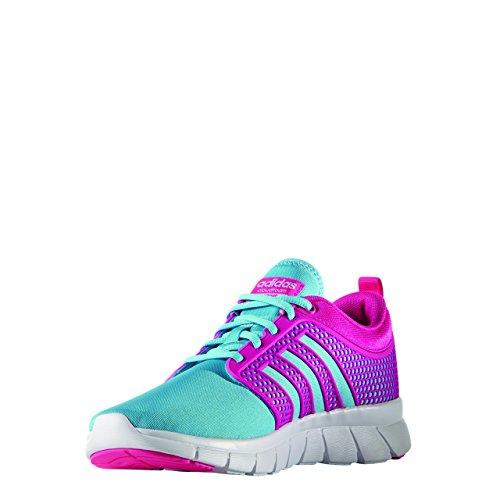 Bright Mujeres Deporte Groove Adidas Cyan Corrientes De Cloudfoam Zapatillas Neo YwA8t