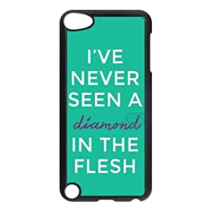 Customized Royals-Lorde Quotes Durable Case Rubber Plastic Protection Cover For iPod Touch 5th Generation