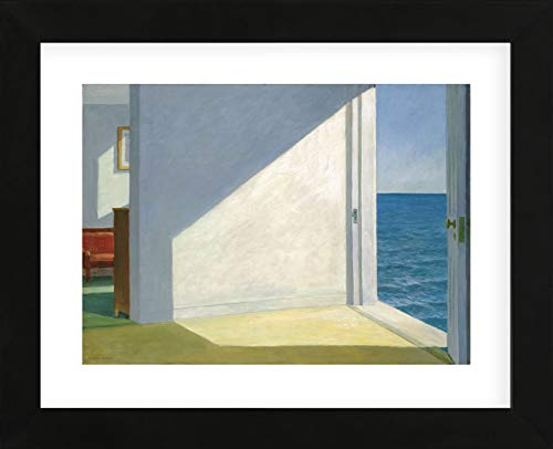 (McGaw Graphics Rooms by The Sea by Edward Hopper Framed Print Multicolor )