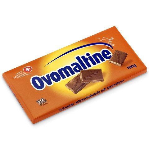 Ovomaltine of Switzerland chocolate bar - x 3 = 300 g