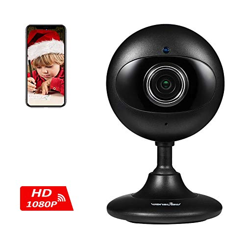 Photo : Wansview Home Security Camera, 1080P Wireless WiFi Indoor IP Surveillance Indoor Camera for Baby/Elder/Pet/Nanny Monitor with Night Vision and Two-Way Audio-K3 (Black)