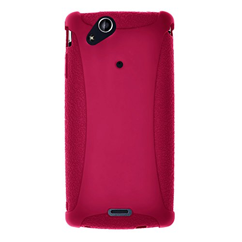 amzer-amz91358-silicone-skin-jelly-case-for-sony-ericsson-xperia-arc-1-pack-pink