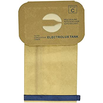 24 electrolux allergy micro filtration canister tank style c vacuum bags models le g