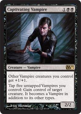 Magic: the Gathering - Captivating Vampire - Magic 2011