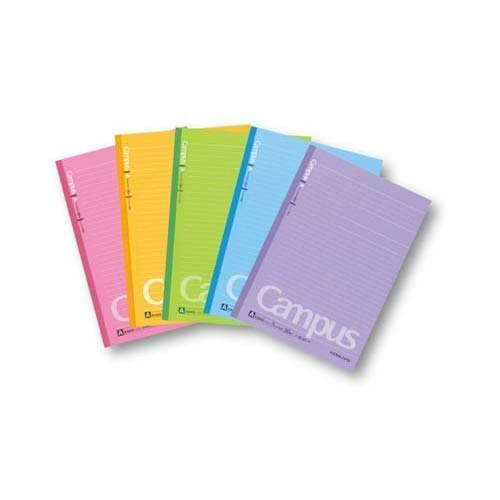 Kokuyo S & T campus Notes (dot-filled borders) five books X5 B ruled