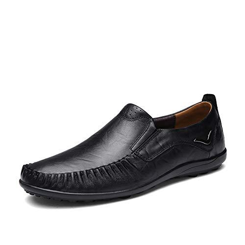 Casual 46 De Para Carrera Primavera Formales Conducción Nuevos black Slip ons Otoño fei Oficina Zapatos Y Gpf Negocios Hombre Loafers Hombre amp; wqEn1zp0C