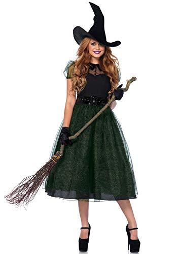 Leg Avenue Women's Costume, Black, Small