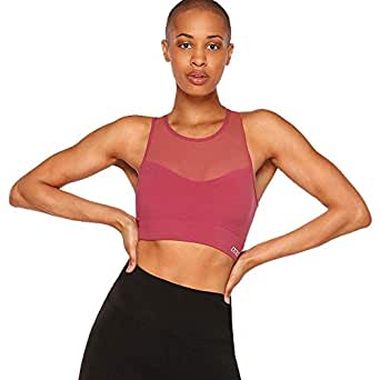 Lorna Jane Women's Comfort Sports Bra, Raspberry Sorbet, XS