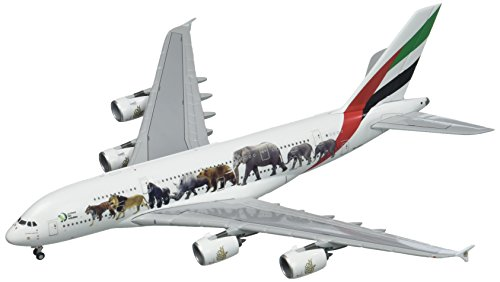 Gemini Jets 1/400 A380-800 エミレーツ航空 Wildlife #3 A6-EEQ