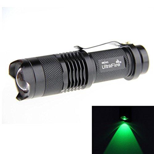UltraFire CREE LED Flashlight (Black) - 5