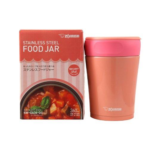 Zojirushi SW-GA36-GF Stainless Steel Food Jar, Avocado Green