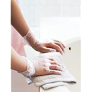 EDI Powder Free Vinyl Disposable Gloves - cleaning