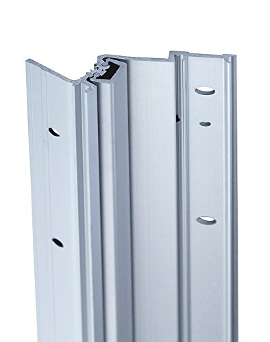 Full Surface Continuous Geared door hinges 30 Series Full Surface Type in Aluminum Finish, Durable door hardware, shower hardware & door hinges by Rockwell